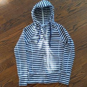 Zip Up Fitted Hoodie